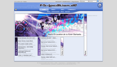 What Fs-location.de website looked like in 2020 (This year)