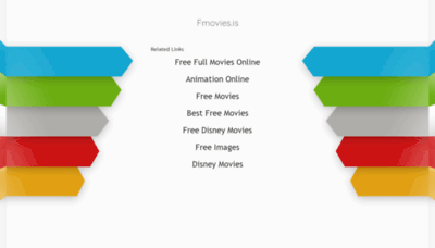 What Fmovies.is website looked like in 2020 (1 year ago)