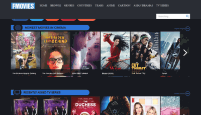 What Fmovies.tl website looked like in 2020 (This year)