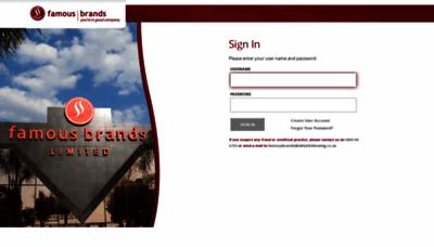 What Fborders.co.za website looks like in 2021