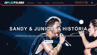 What Flixfilmes.net website looks like in 2021
