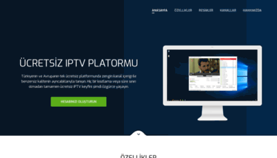 What Freeiptvserver.net website looks like in 2021