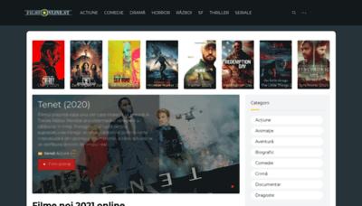 What Filmeonline2016.biz website looks like in 2021