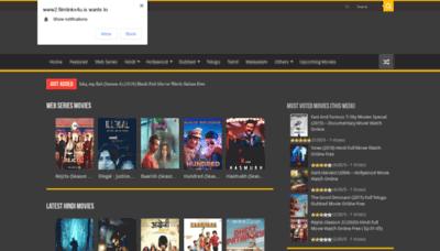 What Filmlinks4u.net website looks like in 2021