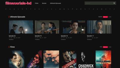 What Filmeseriale-hd.org website looks like in 2021