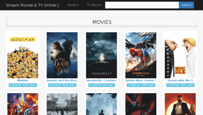 What Go2movies.net website looked like in 2017 (4 years ago)