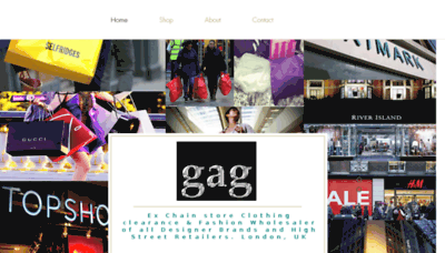 What Gaguk.co.uk website looked like in 2018 (2 years ago)