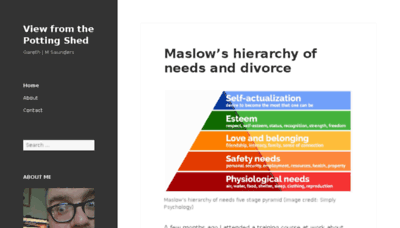 What Garethjmsaunders.co.uk website looked like in 2018 (3 years ago)