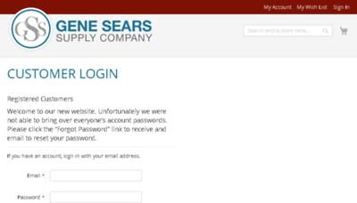 What Genesears.net website looked like in 2018 (3 years ago)