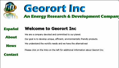 What Georortinc.net website looked like in 2018 (2 years ago)