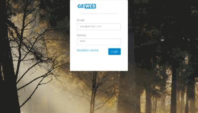 What Gestorescolarweb.com.br website looked like in 2018 (2 years ago)