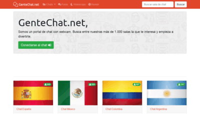 What Gentechat.net website looked like in 2019 (2 years ago)