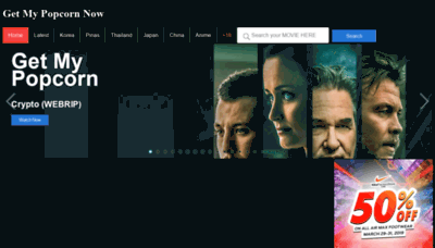 What Getmypopcornnow.pw website looked like in 2019 (2 years ago)