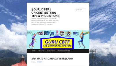 What Gurucbtf.biz website looked like in 2019 (1 year ago)