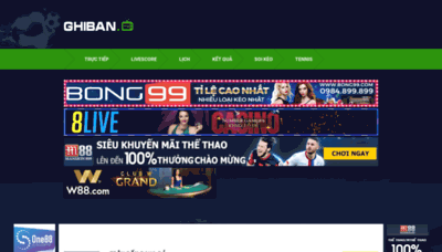 What Ghiban.tv website looked like in 2020 (1 year ago)