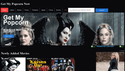 What Getmypopcornnow.pw website looked like in 2020 (1 year ago)