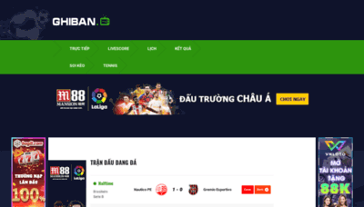 What Ghiban.tv website looked like in 2020 (This year)