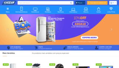 What Gazinatacado.com.br website looks like in 2021