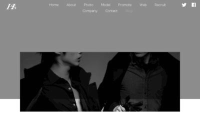 What Hinkes.jp website looked like in 2018 (3 years ago)