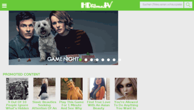 What Hdfilme.tv website looked like in 2018 (3 years ago)