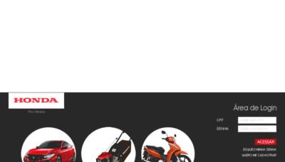 What Hondaposvenda.com.br website looked like in 2018 (2 years ago)