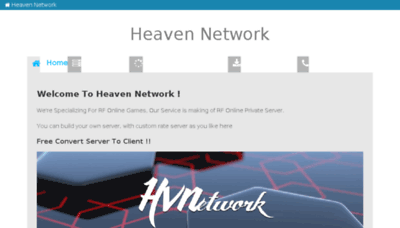 What Heaven-gaming.org website looked like in 2018 (3 years ago)