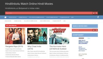 What Hindilinks4u.biz website looked like in 2019 (2 years ago)