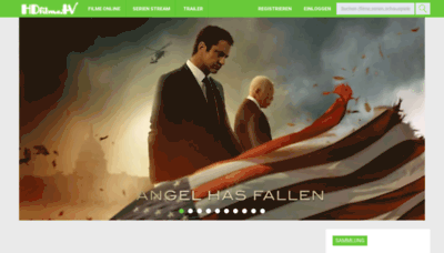 What Hdfilme.tv website looked like in 2019 (1 year ago)