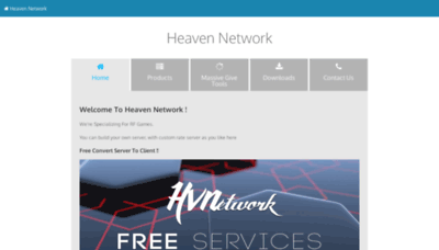 What Heaven-gaming.org website looked like in 2019 (1 year ago)