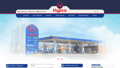 What Hypco.com.tr website looked like in 2020 (1 year ago)
