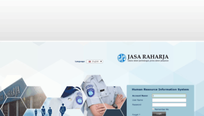 What Hris.jasaraharja.co.id website looked like in 2020 (This year)