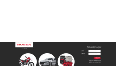 What Hondaposvenda.com.br website looked like in 2020 (This year)