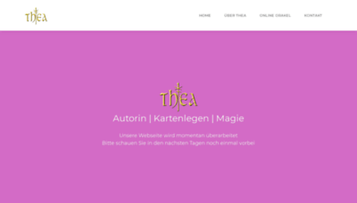 What Hexenhaus.net website looked like in 2020 (This year)