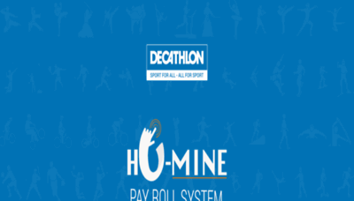 What Humine.decathlon.in website looked like in 2020 (1 year ago)