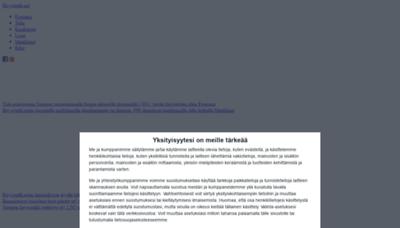 What Hevostalli.net website looks like in 2021