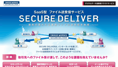 What I-securedeliver.jp website looked like in 2016 (5 years ago)