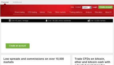 igmarket.com.au at WI. Online Trading   Financial Trading ...