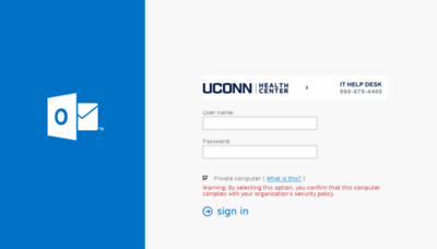 What Itowa.uchc.edu website looked like in 2017 (3 years ago)