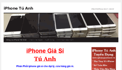 What Iphonegiasituanh.vn website looked like in 2017 (3 years ago)