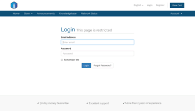 What Incredible-hosting.xyz website looked like in 2018 (2 years ago)