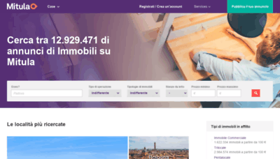 What Immobiliare.mitula.it website looked like in 2019 (2 years ago)