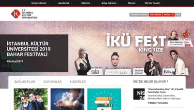 What Iku.edu.tr website looked like in 2019 (2 years ago)