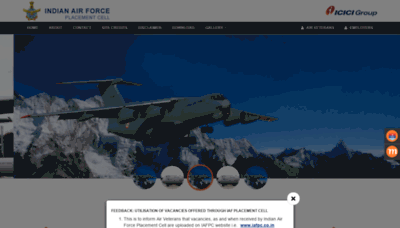 What Iafpc.co.in website looked like in 2019 (1 year ago)
