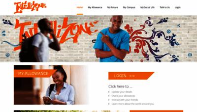 What Intellizone.co.za website looked like in 2019 (1 year ago)