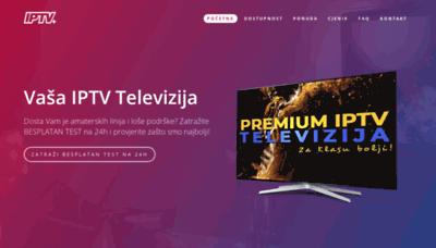 What Iptvplus.eu website looked like in 2020 (1 year ago)