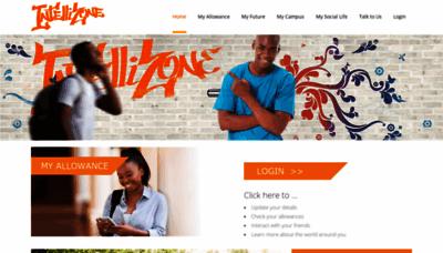 What Intellizone.co.za website looked like in 2020 (1 year ago)