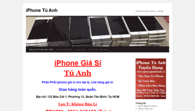 What Iphonegiasituanh.vn website looked like in 2020 (This year)