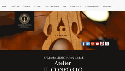 What Ilconforto.info website looks like in 2021