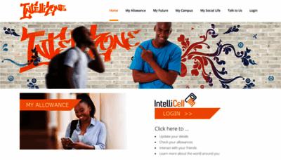 What Intellizone.co.za website looks like in 2021