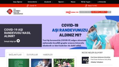 What Iku.edu.tr website looks like in 2021